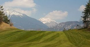 king's golf course Bled