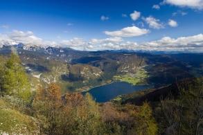 Lake Bohinj - from mountain Vogel