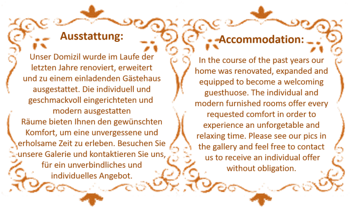 ausstattung.accommodation