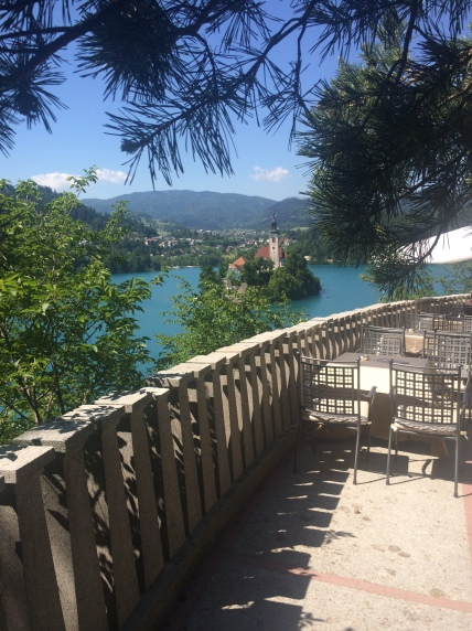Bled - view from Belvedere