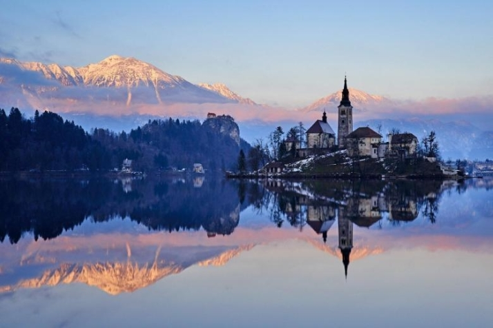Slovenia-Bled-Lake-Bled-and-Julian-Alps