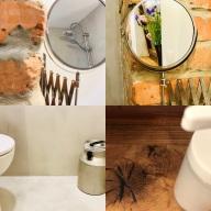hayloft bathroom impressions