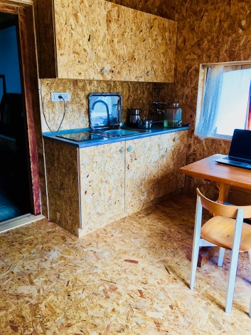 Hayloft osb Kitchenette