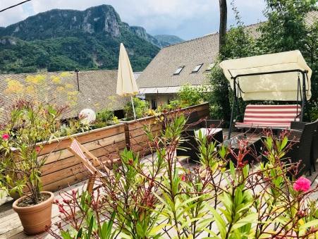 Hayloft terrasse pr'Skminc viewing rock Babji Zob