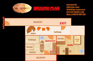 ground plan studio und apartment