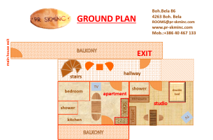 ground plan studio und apartment